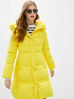 Желтая демисезонная куртка Hetrego
