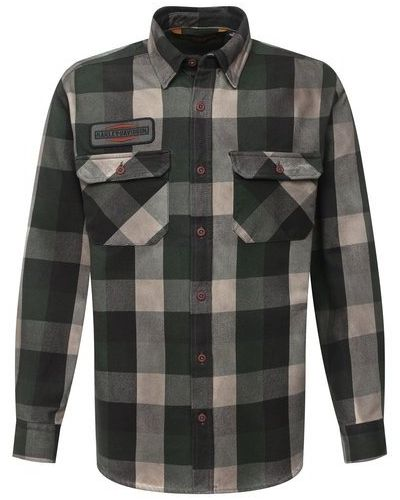 Хлопковая рубашка Harley Davidson