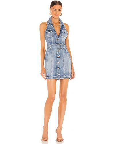 Джинсовое платье - синее Retrofete