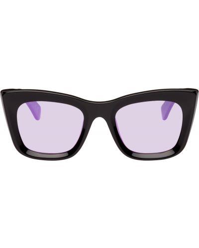 Okulary skorzane - czarne Retrosuperfuture