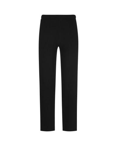 Хлопковые черные спортивные брюки свободного кроя Gsd