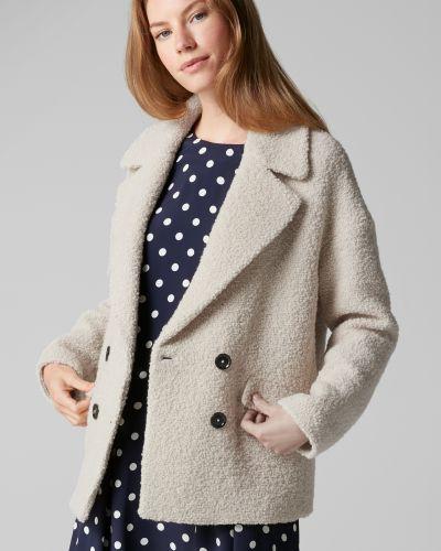 Пальто классическое шерстяное бушлат Marc O`polo
