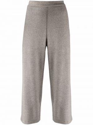 Серые кашемировые брюки Fabiana Filippi