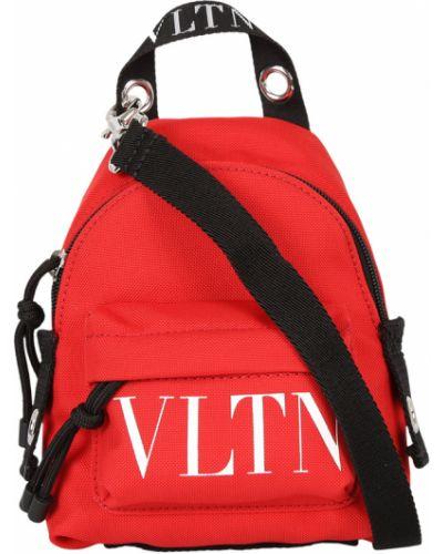 Czerwony plecak Valentino