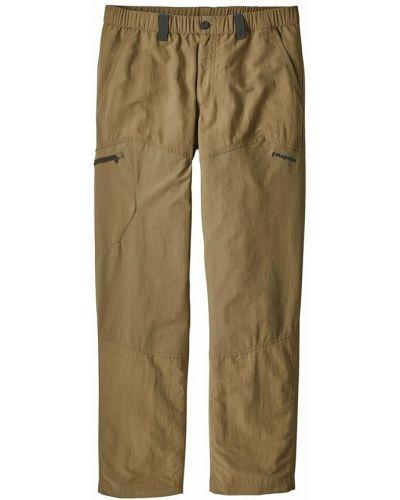Brązowe spodnie Patagonia