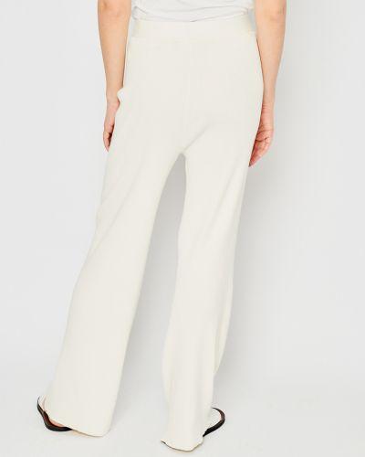 Расклешенные брюки эластичные из вискозы Stefanel
