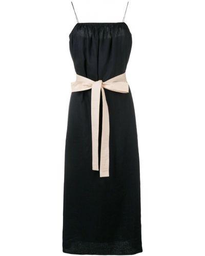 Платье миди с поясом прямое Joseph