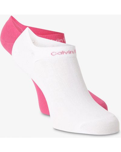 Skarpety - różowe Calvin Klein