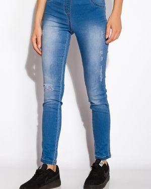 Хлопковые джинсы - голубые Time Of Style