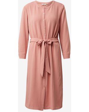 Платье с поясом на пуговицах прямое Tom Tailor