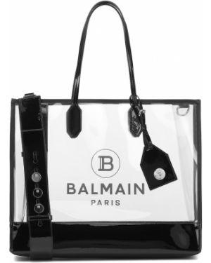 Torebka średnia na zakupy na ramię Balmain
