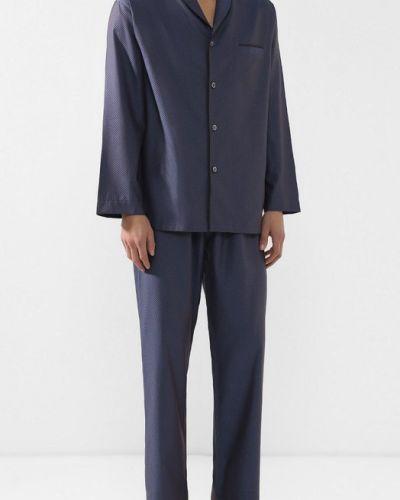 Пижама хлопковая с принтом Zimmerli