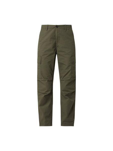 Spodnie bawełniane - zielone Carhartt Work In Progress
