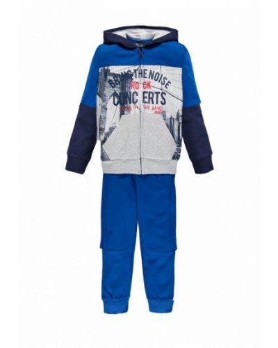 Спортивный костюм серый синий Brums