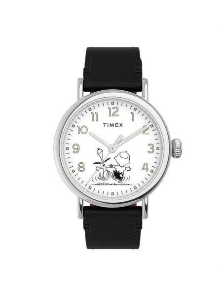 Czarny zegarek Timex