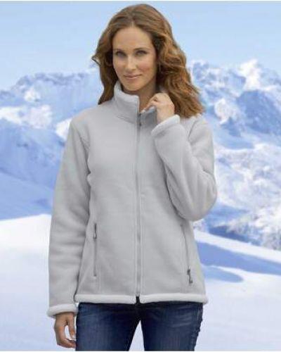 Серая спортивная куртка на молнии с подкладкой Atlas For Men
