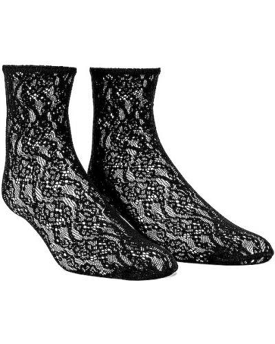 Черные итальянские носки Wolford