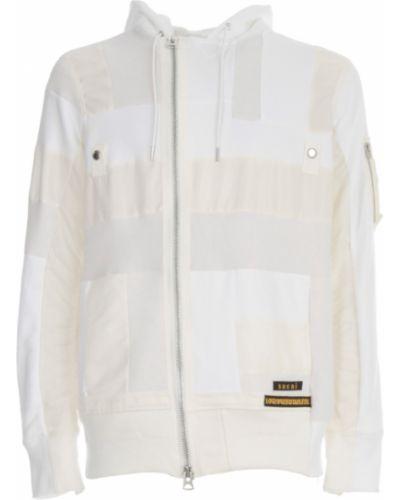 Biała bluza Sacai