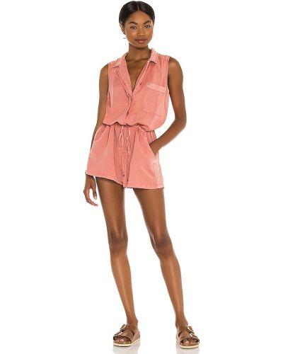 С кулиской текстильный облегченный ромпер Yfb Clothing