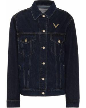 Джинсовая куртка куртка-жакет классическая Valentino