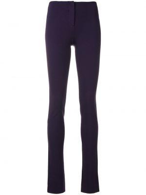 Облегающие фиолетовые брюки винтажные Missoni Pre-owned