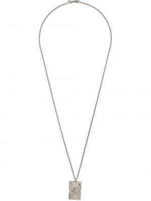 Серебряное ожерелье с подвесками Northskull