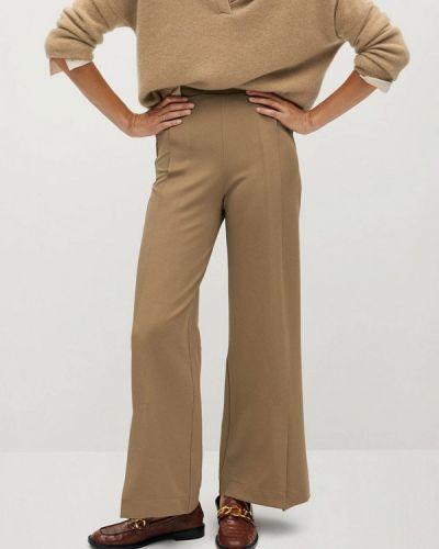 Повседневные коричневые брюки Mango