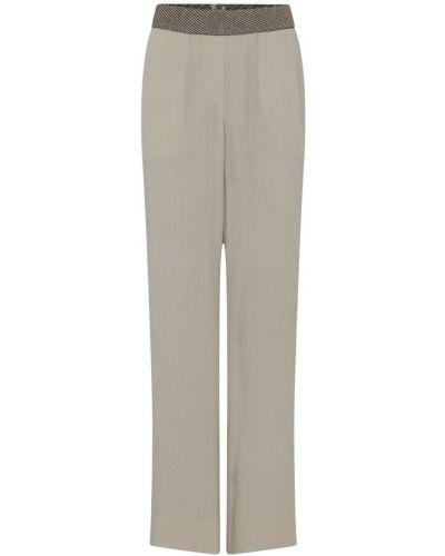 Beżowe spodnie Gustav