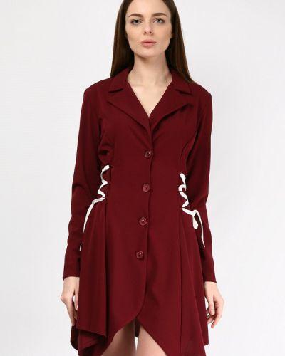 Платье весеннее красный Lipinskaya Brand