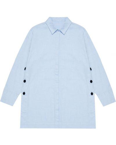 Рубашка - голубая Moodo