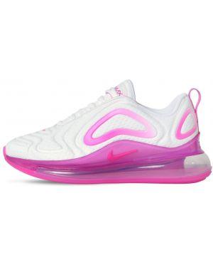 Białe sneakersy sznurowane koronkowe Nike