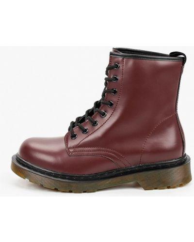 Красные кожаные ботинки Martin Pescatore