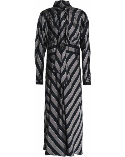 Платье миди с длинными рукавами - серое Marc Jacobs