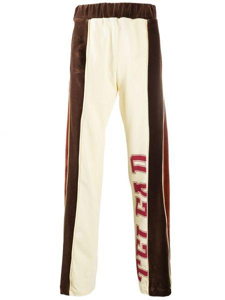 Свободные свободные брюки свободного кроя с поясом со вставками Telfar