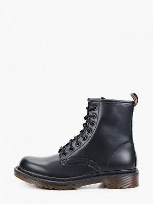Черные кожаные полуботинки Sweet Shoes