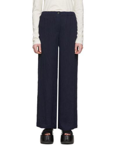 Брючные брюки свободного кроя Raquel Allegra