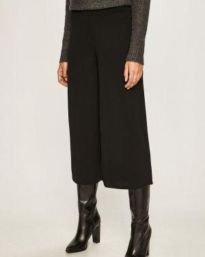 Czarne spodnie dzianinowe Jacqueline De Yong