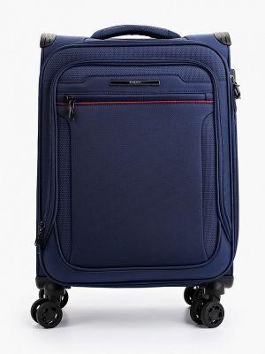 Синий зимний чемодан Verage
