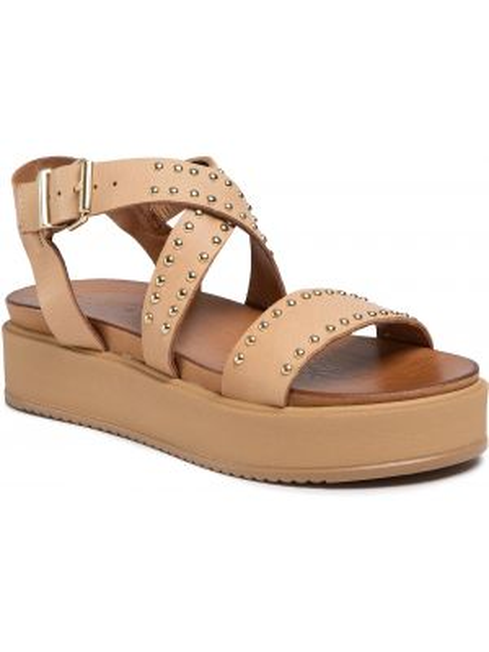 Brązowe sandały casual Inuovo