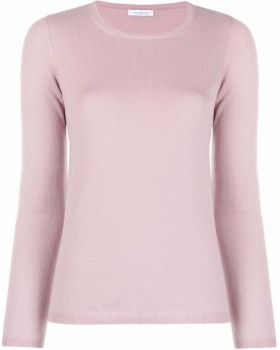 Розовый джемпер с длинными рукавами Malo