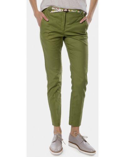 Зеленые брюки Mr520
