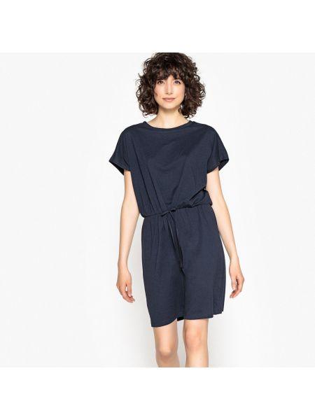 Платье мини с поясом прямое Vero Moda