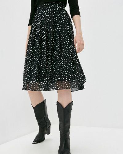 Плиссированная черная юбка Iblues