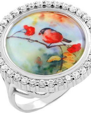 Кольцо из серебра красный серебро россии