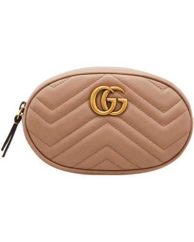 Поясная сумка маленькая кожаный Gucci
