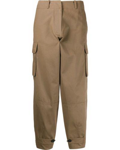 Укороченные брюки с завышенной талией свободные Antonio Marras