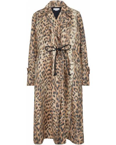 Бежевое пальто Victoria Beckham