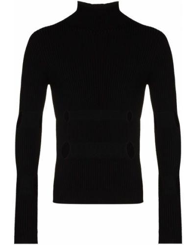 Шерстяной черный свитер Gmbh