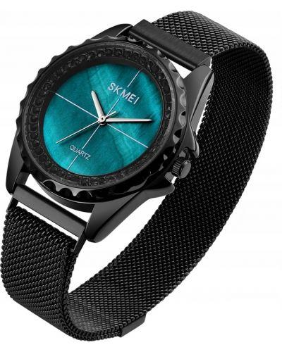 Czarny zegarek z siateczką Skmei