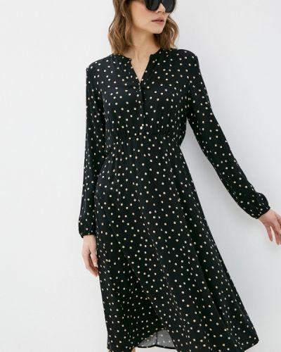 Повседневное черное платье Betty Barclay